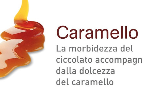 BOX 30 BUSTE CIOCCOLATA CARAMELLO