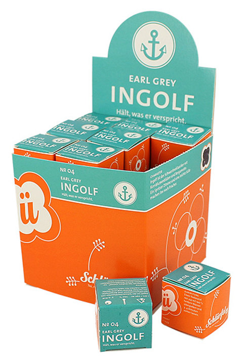 N°4 INGOLF Bio Earl Grey tea 27 filtri