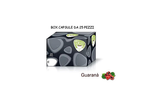BOX 25 CAPSULE BAR GUARANA'