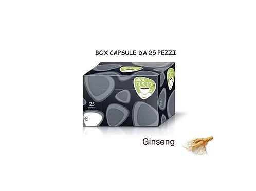 GINSENG - CAPSULE BAR 25Pz