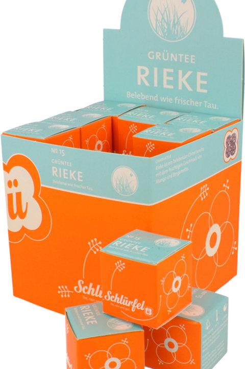 N°15 BIO GREEN TEA RIEKE 27 filtri