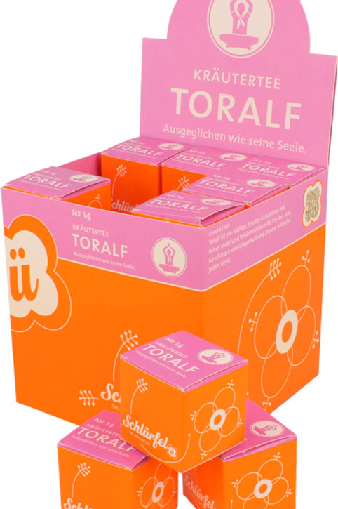 N°14 BIO GREEN TEA TORALF 27 filtri
