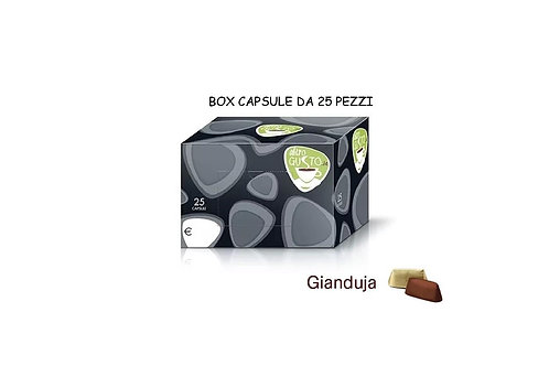 GIANDUJA - CAPSULE BAR 25Pz