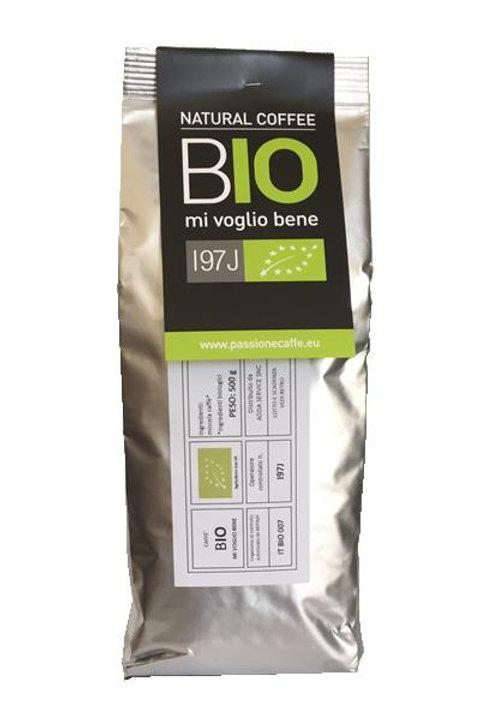 CAFFE' BIOLOGICO 500g in grani