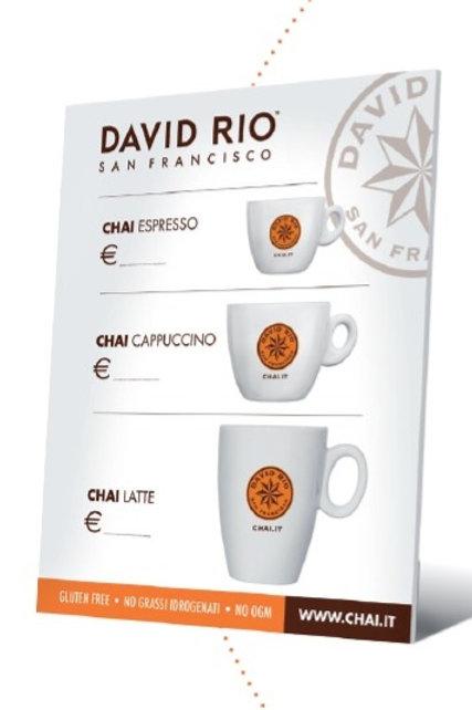 CARTELLO PLEXI DAVID RIO CHAI