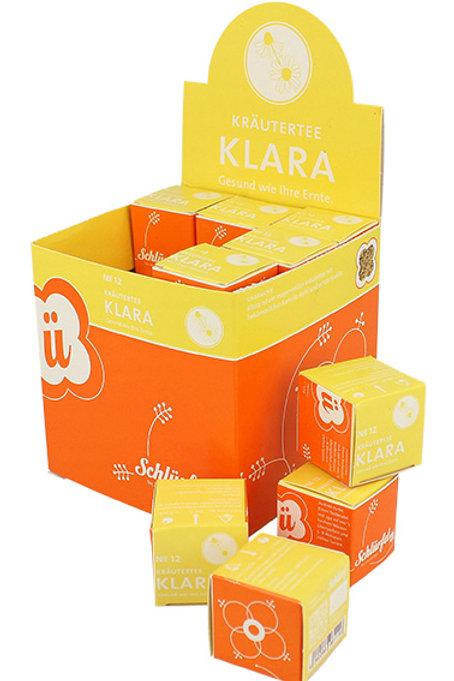 N°12 Bio Tisana KLARA 27 filtri