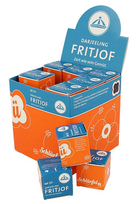 N°1 Fritjof Bio Darjeeling tea 27 filtri