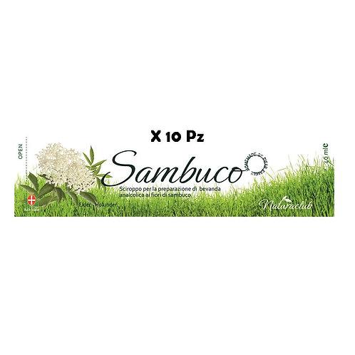 10 PZ BEVANDA NATURALE SAMBUCO
