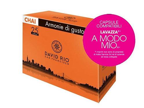 CHAI Box 25 Capsule compatibili LAVAZZA A MODO MIO