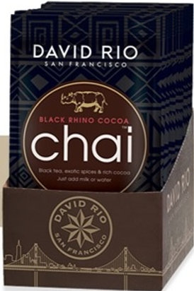 BLACK RHINO COCOA CHAI  12 MONODOSI