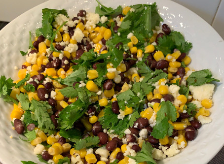 mexican beans and corn