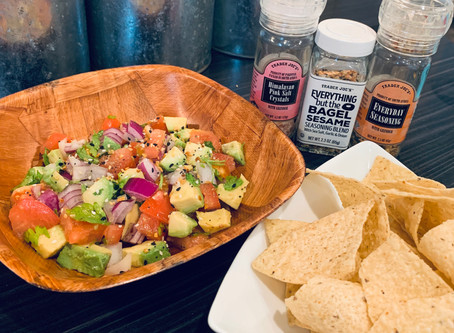 everything avocado salsa