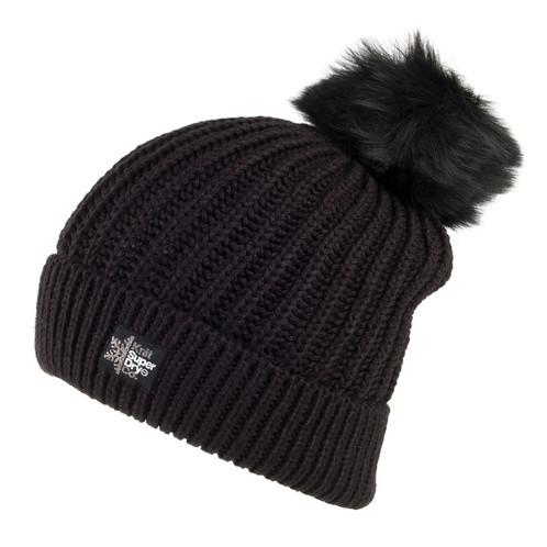 Superdry Aries Sparkle Fur Bobble Hat. SKU  127614.   35.00. DETAILS.  Colour- Black Sparkle dab789d79e71