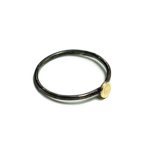Mixed Metal Spondylus Ring