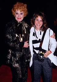 Linda with Lucille Ball