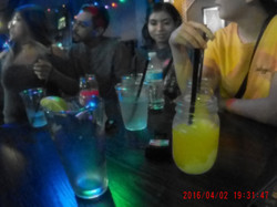 Drinking spirits