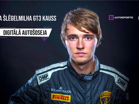 Digitālā Autošoseja - Haralda Šlēgelmilha GT3 Kausā uzvaru izcīna Dzintars Raits