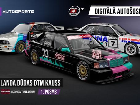Digitālā Autošoseja - Rolanda Dūdas DTM Kausā uzvaru svin Gunārs Razgals.