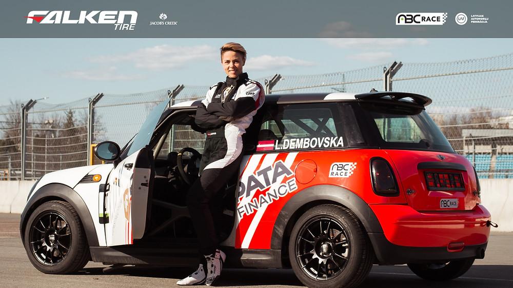 Lelde Dembovska - ABC RACE