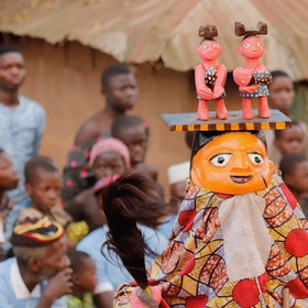 Gelede Mask Ceremony