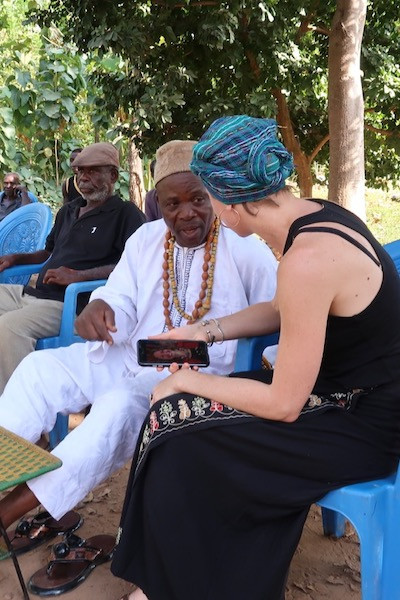 Sharing images with Bassar Chief