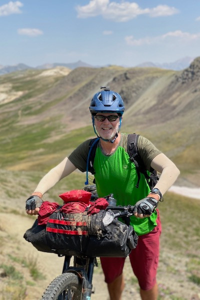 Bikepacking - all packed up & ready to go!