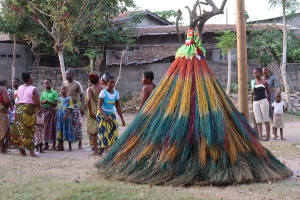 Zangbeto Mask Ceremony
