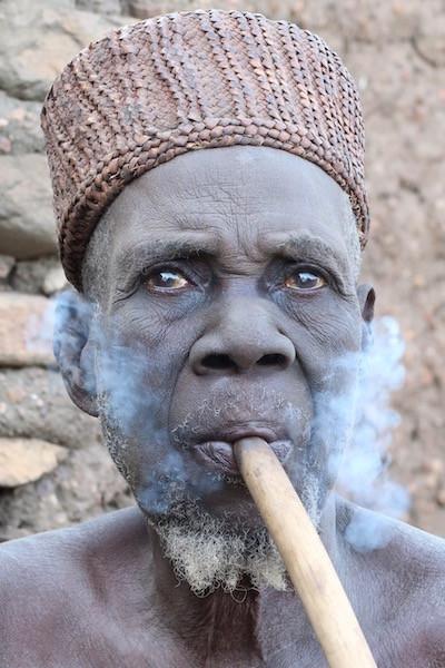 Taneka blind man