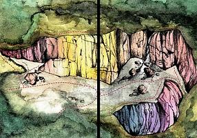 Climb 암벽등반 Rock Climbing in Korea. Yongseo Pokpo, pp78-79