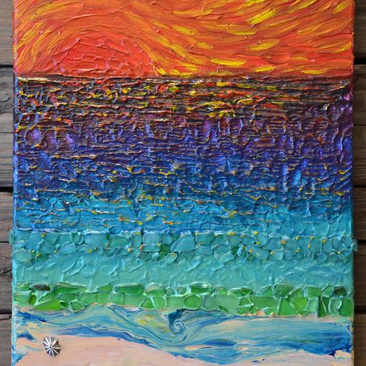 Seaglass, Sunset