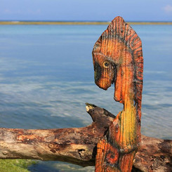 Salvaged Seahorse