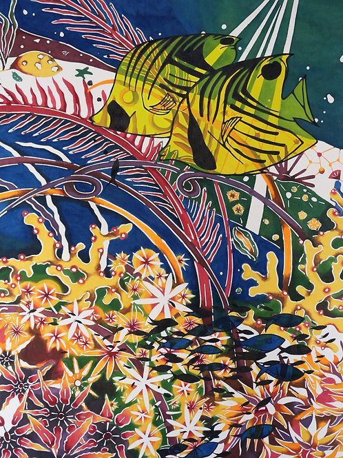 Postcard: 海の蝶々, Ocean Butterflies