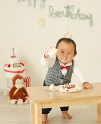 お誕生日スマッシュケーキ