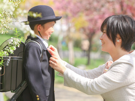 入学写真撮影に大阪市港区へお伺いしました