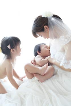 大阪出張撮影写真撮影お宮参り七五三授乳フォトバースフォト授乳フォト