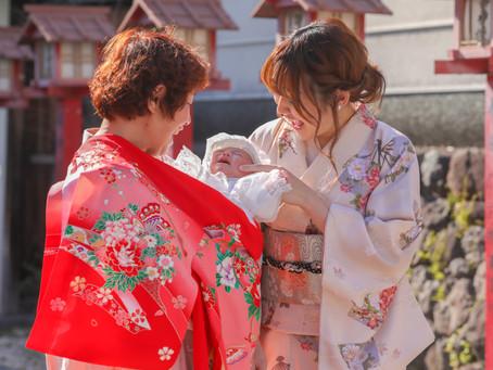 茨木神社お宮参り出張撮影