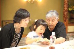 大阪出張撮影写真撮影お宮参り七五三授乳フォトバースフォト祖父母と撮影
