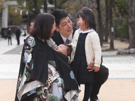 お宮参り出張写真撮影 神戸湊川神社