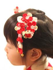 髪飾り(7歳女の子)