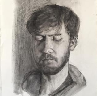 Pastel portrait of Sean 2019