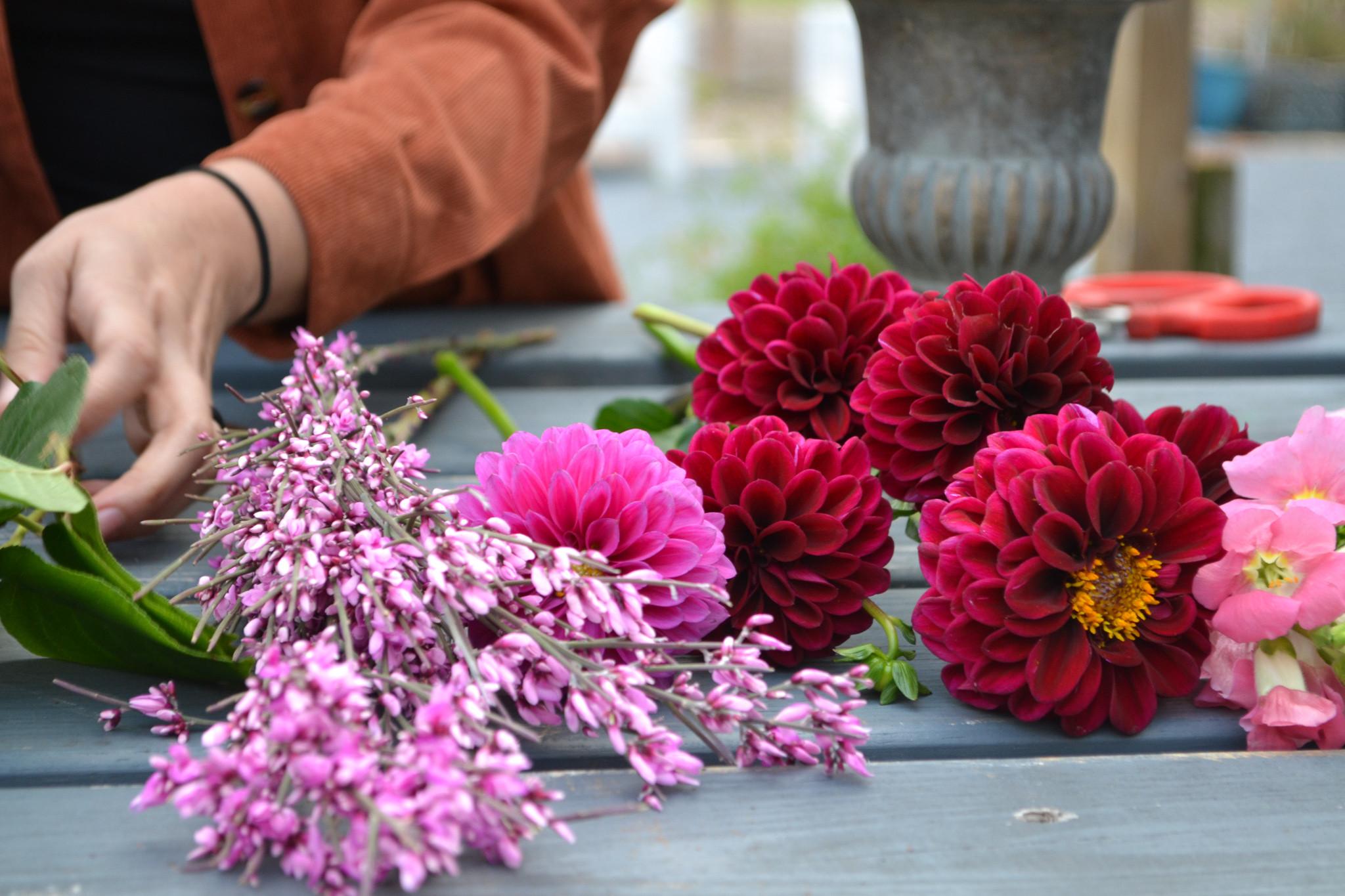 Galantine's Day Floral Workshop 1