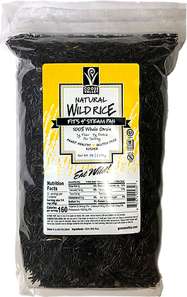 5lb Bag of Natural Wild Rice