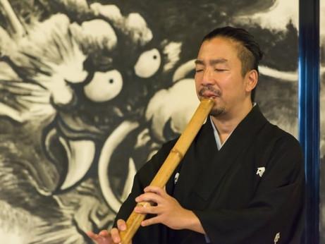 【富山初開催】禅の街 鎌倉より 呼吸と尺八ワークショップ「呼吸は語る」を5月5日(土)にFactory Art Museum TOYAMAにて開催
