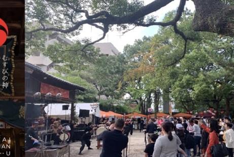 鳥飼八幡宮秋季大祭2020を10月10日(土)、11日(日)に開催  食×音楽×アートを盛り上げるニューノーマルな2DAYS!