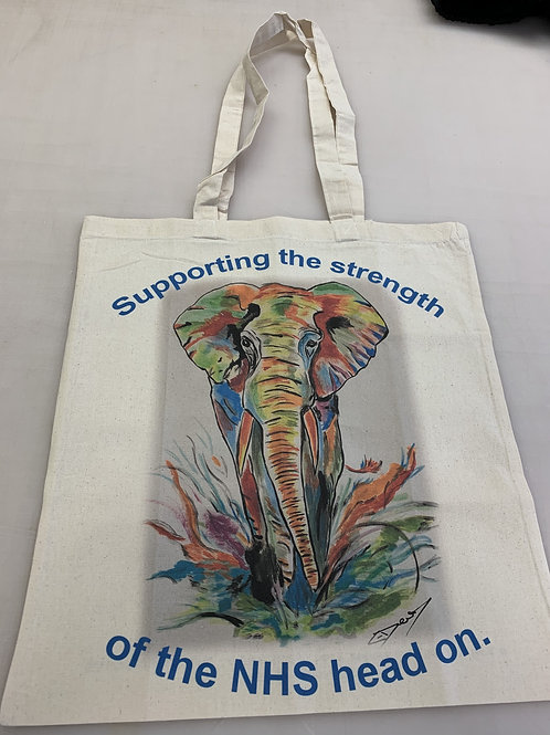 Emma Elephant Tote Bag