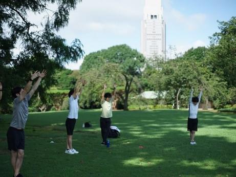 テレワーク時代の新運動習慣|朝7時から新宿御苑でプロのトレーナーによる健康改善プログラムに参加できるサブスク「7-9PARK(ナナキュウパーク)おはようパス」が10月20日よりスタート
