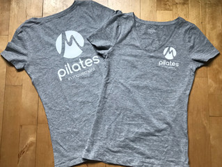 2019...Nieuw Pilates-jaar, nieuw t-shirt!
