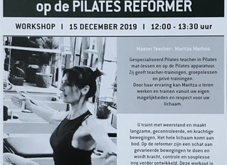 Master Training op de Pilates Reformer en Chair door Maritza Marbus