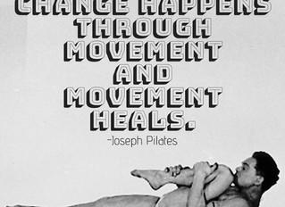 Nieuwe lessen bij Pilates in Movement, Weesp.