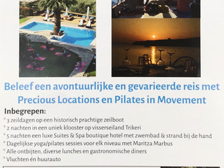 Onvergetelijk paradijselijk yoga/pilates retreat !